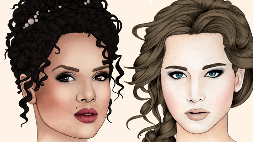 Stunning Prom Makeup Inspired By Your Fave Fictional Heroines