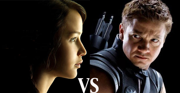 The MindHut SCIFI SMACKDOWN 3: Katniss Everdeen versus Hawkeye!