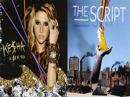 Video War: Ke$ha Vs. The Script