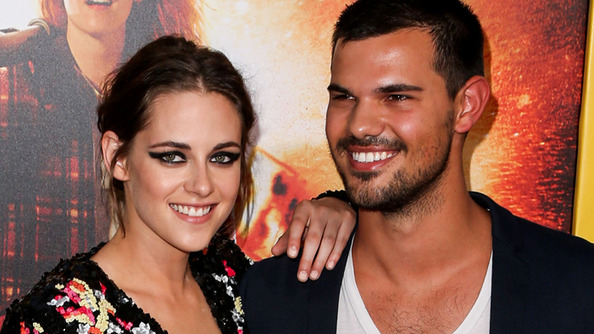 SUCK IT, EDWARD: KStew Brought Taylor Lautner as Her <em>American Ultra</em> Premiere Date