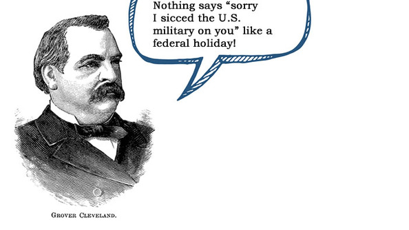 HAPPY LABOR DAY, SAMUEL GOMPERS! (+ Some of Our Fave Post of the Summer)