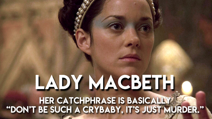All the Best Fictional Villains Summed Up in a Single Sentence