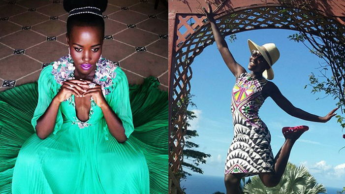 Our FAVORITE PIX from Lupita Nyong'o's Gorgeous Instagram Account