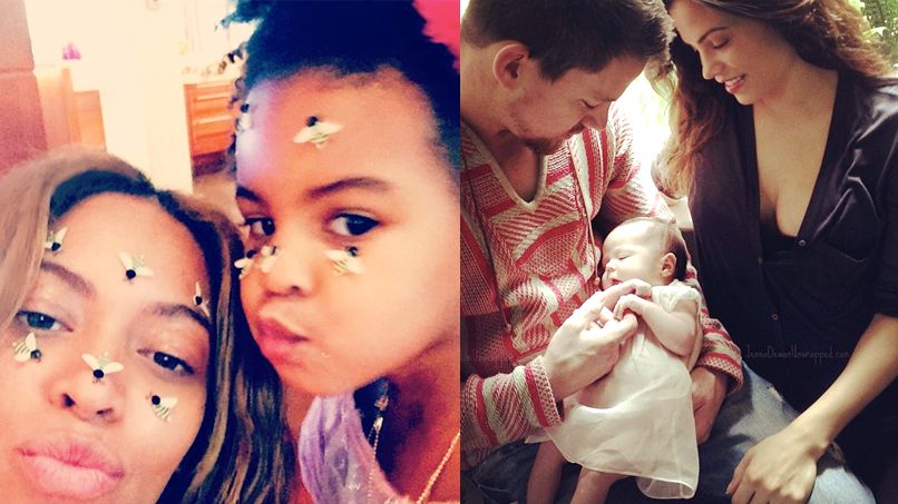 Beyoncé, Blake, & Princess Kate: We Round Up Our Fave Celeb Moms!