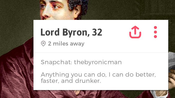 If Famous Poets Had Tinder