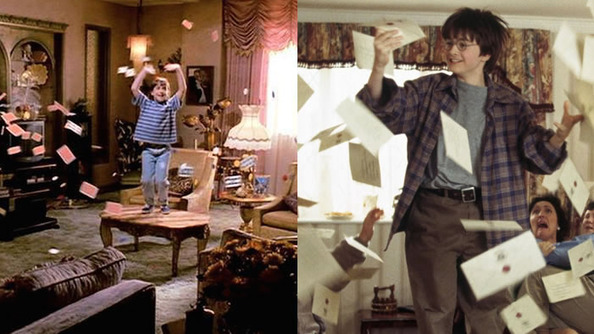 Is Matilda the Early Draft of Harry Potter?