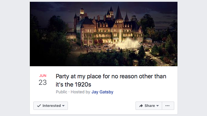 If <i>The Great Gatsby</i> Had the Internet