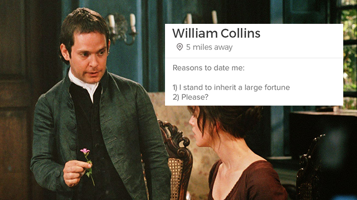 If the Characters from <i>Pride and Prejudice</i> Had Tinder