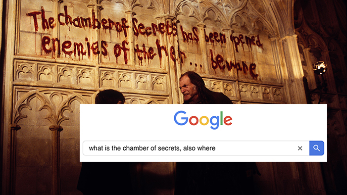 If Harry Potter Had Google