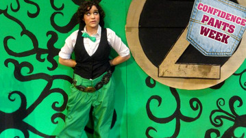 The Great and Powerful Green Pants of Oz