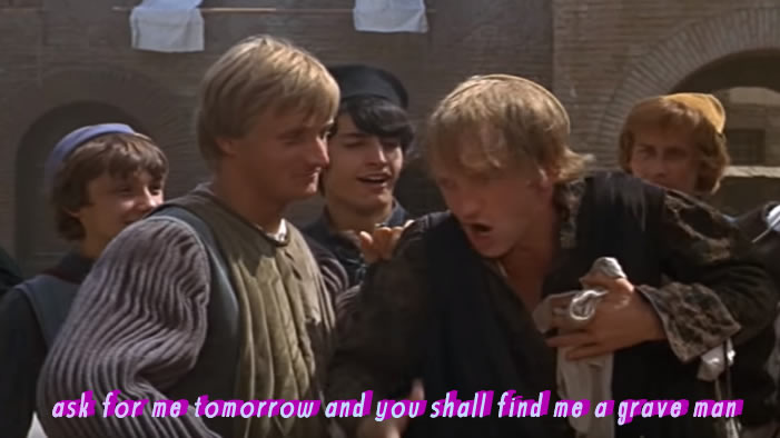 Why Does Everyone Love Mercutio?
