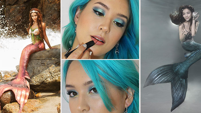 Mermaid Eyes to Take You From the World Up There to Homecoming or Halloween