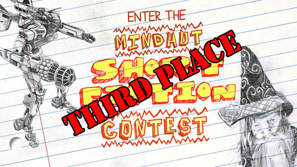 """THE MINDHUT SHORT FICTION CONTEST 3RD PLACE WINNER: """"Untitled"""" by Kaleigh"""