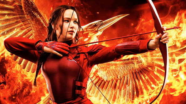 The Final Poster for Mockingjay Part 2 Is a Gorgeous Fireball of Glory & Doom