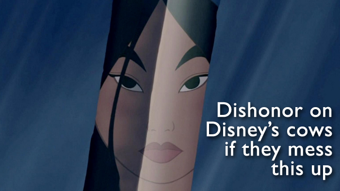 We're Getting Down to Business...TO DREAM-CAST THE LIVE-ACTION <em>MULAN</em> FILM