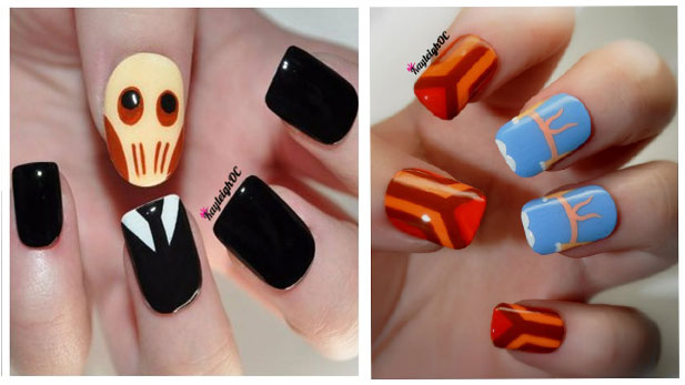 How to Turn Your Fingers Into Nerdy Nail Art!