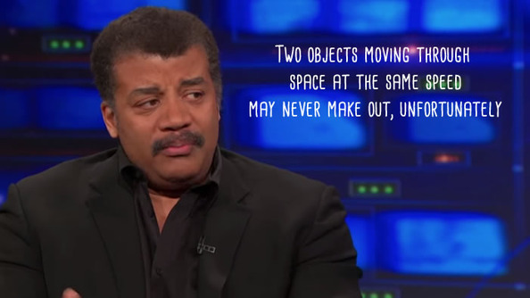 Love Advice from Neil deGrasse Tyson