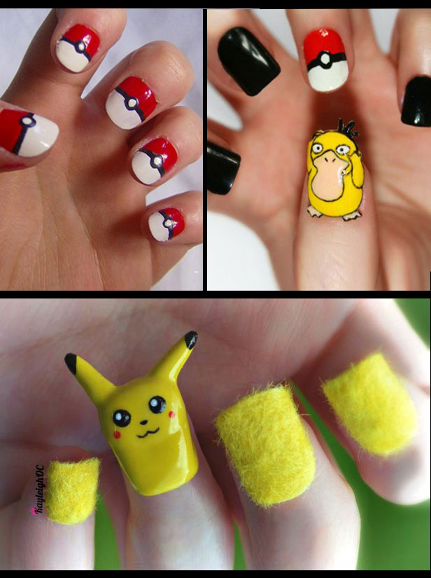 SparkLife » The Nerdy Nail Art of Kayleigh O\'Connor
