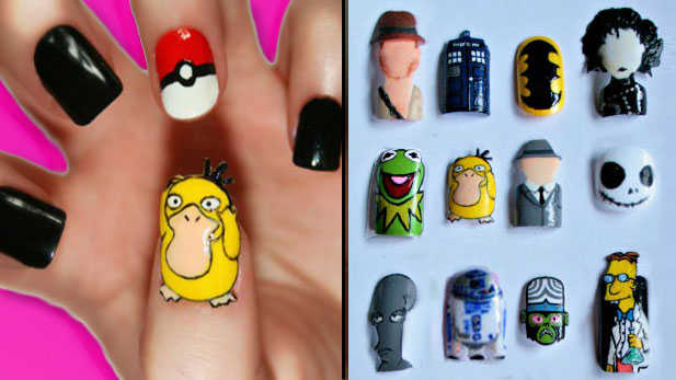 The Nerdy Nail Art of Kayleigh O'Connor