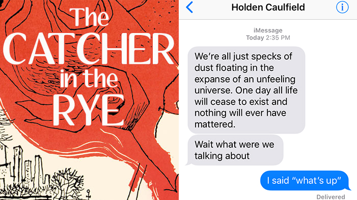 SparkLife » If Holden Caulfield Could Text
