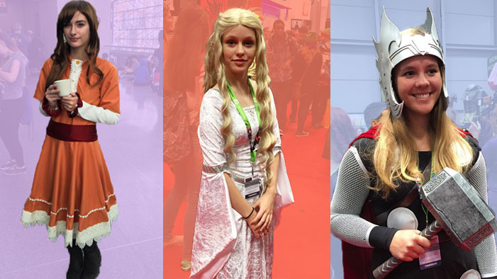 Fangirls Rock Thor, Galadriel, Flora + More in These Awesome Cosplays From New York Comic Con