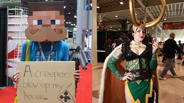 The Weirdest Cosplay at the New York Comic Con