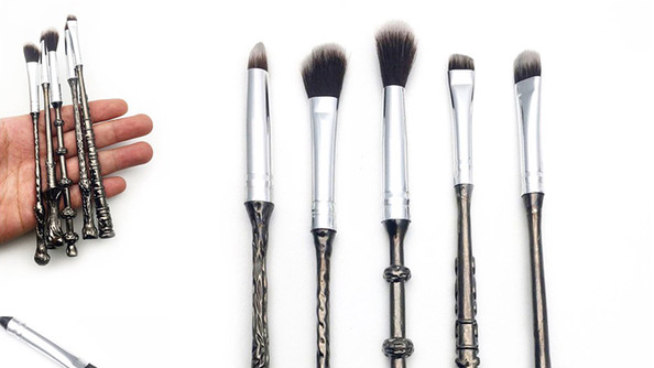 You're Going to Want These New Harry Potter-Themed Brush Sets (Even if You Don't Wear Makeup)