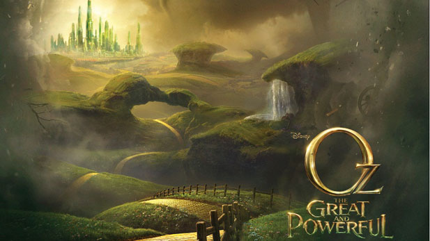 The New Oz: The Great and Powerful Trailer is a Show Off
