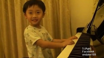 Check Out This Incredible Piano Prodigy!