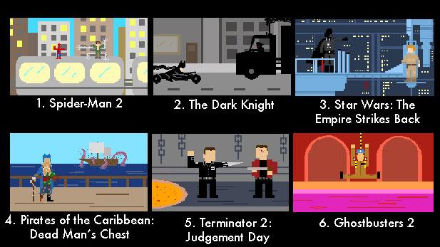 Pixel Puzzle Challenge 3: TV Shows!