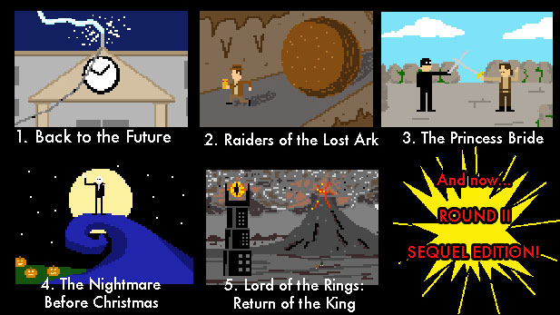Pixel Puzzle Challenge 2: The Sequels!