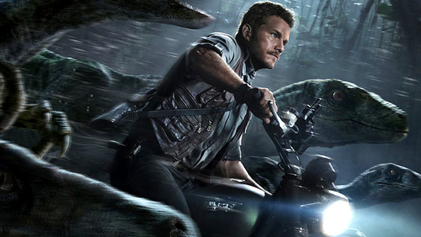 Chris Pratt Is the Rakish Rebel Leader of a Dinosaur Scooter Gang in the Newest <em>Jurassic World</em> Trailer