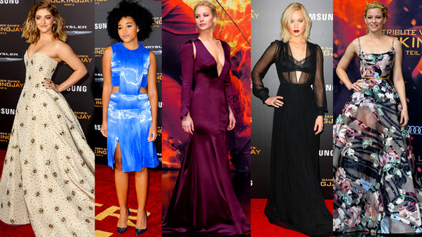 Which STUNNING <em>Mockingjay 2</em> Premiere Look Was Your FLAVORITE? Cast Your Vote Here!