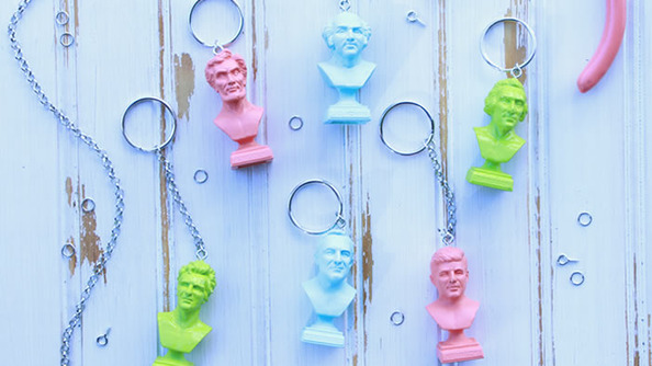 DIY Presidential Keychains for All Your Historical Fandom Needs