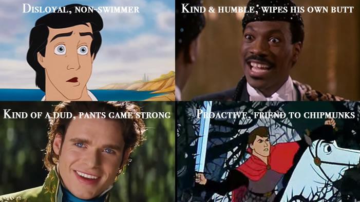 Top 10 Movie Princes