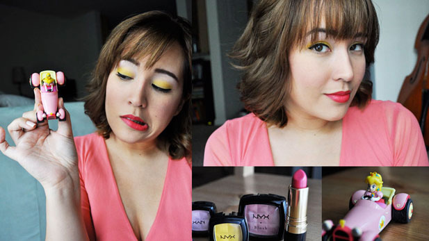 Geeky Girl Glam: Princess Peach