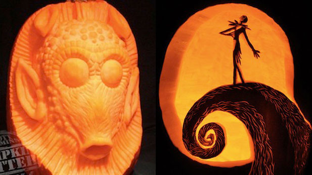 These Are the Geekiest Jack-O-Lanterns You've Never Seen!