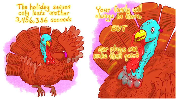 These Motivational Turkeys Will Get You Through the Holidays