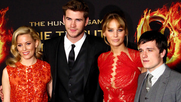 More Pix from the Hunger Games Premieres!