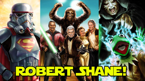 The Incredible Star Wars Mash-Up Art of Robert Shane!