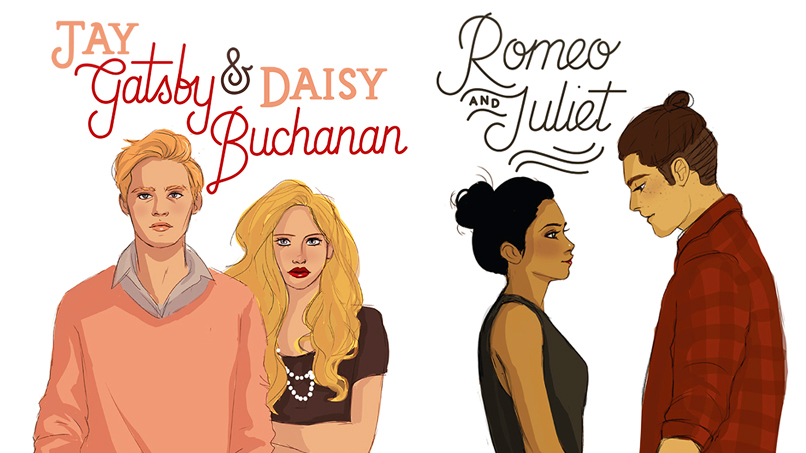 Our Fave Classic Lit Characters Get a Modern Makeover