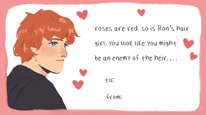 Adorable <em>Harry Potter</em> Valentines That Will Totally Bewitch Your Crush