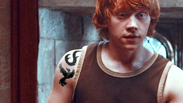 the kite runner if the harry potter characters had tattoos