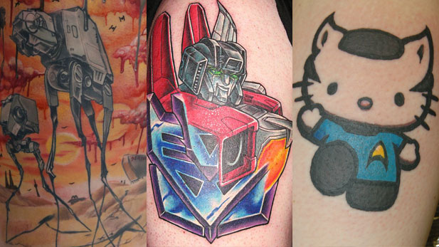 The Craziest Sci Fi Tattoos Ever