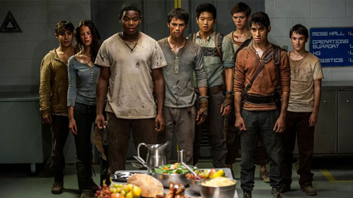 EXCLUSIVE: <i>The Scorch Trials</i> Interview Bonanza: Dylan O'Brien Reacts to His Hand Fandom, Dexter Darden Talks Carbo-Loading, Scorching Is Had