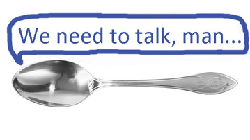 Geek Quiz: Serious Conversation With a Spoon