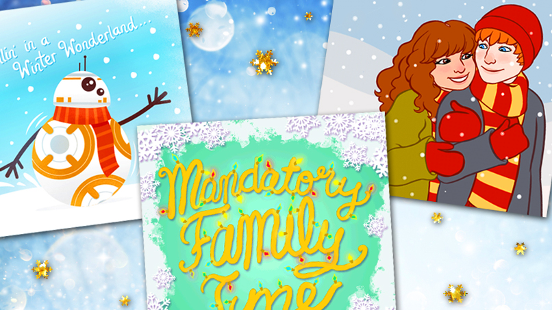 Spectacular SparkLife Holiday Cards!