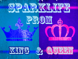 Presenting...Your SparkLife Prom King and Queen!