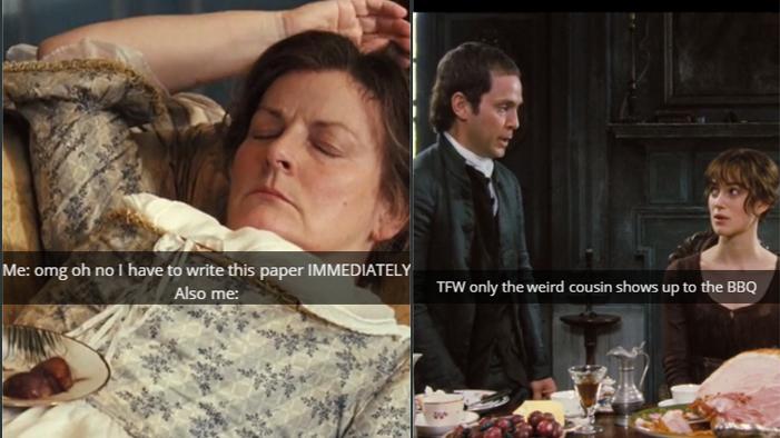 Snapchats from Jane Austen