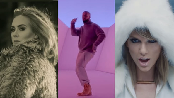 How Do the Best Songs of the Past Year Represent 2015?